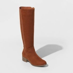 Universal Thread Microsuede Riding Boots